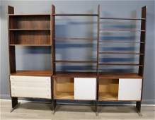 Midcentury Rosewood Wall Unit