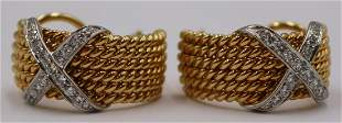JEWELRY. Schlumberger for Tiffany & Co 18kt Gold,