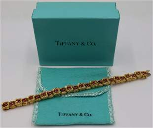 JEWELRY. Vintage Tiffany & Co. 18kt Gold and