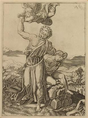 AGOSTINO DEI MUSI (ITALIAN, 16TH CENTURY).