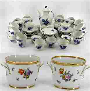 Royal Copenhagen Porcelain Grouping