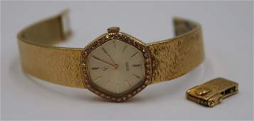 JEWELRY. Ladies Concord 18kt Gold and Diamond