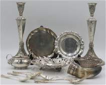 STERLING. Assorted Grouping of Sterling and