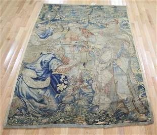 17th / 18th Century Continental Pictorial Tapestry