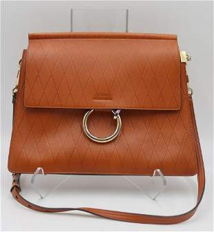 COUTURE. Chloe Leather Faye Shoulder Bag.