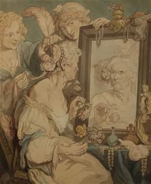 THOMAS ROWLANDSON (BRITISH, 1756-1827).