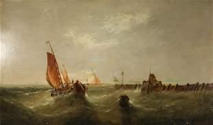 CLARKSON STANFIELD (BRITISH, 1793-1867).