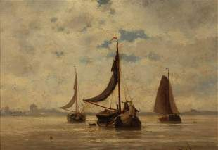 JACOB EDUARD VAN BEEST (DUTCH, 1828-1894).