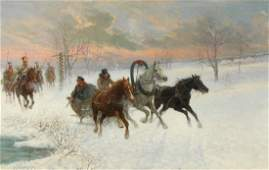 JAN VAN CHELMINSKI (POLISH, 1851-1925).