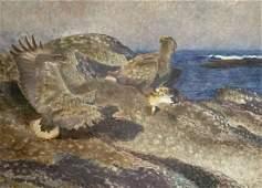 BRUNO LILJEFORS (SWEDISH, 1860-1939).