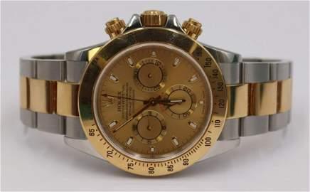 JEWELRY. Rolex Daytona Cosmograph Two-Tone