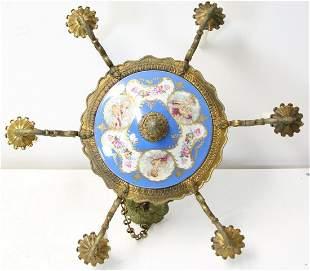19 Century Sevres Bronze Mounted Porcelain
