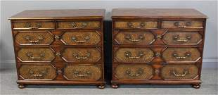 Pair of Theodore Alexander Commodes