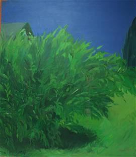 Cornelia Foss Signed Oil on Canvas Landscape.