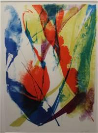 Paul Jenkins (1923 - 2012) Lithograph
