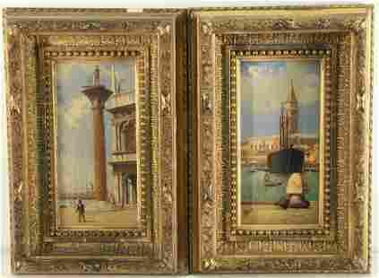 P SANTI (ITALIAN, 19TH/20TH CENTURY).