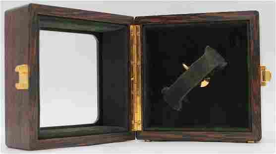 JEWELRY. Audemars Piguet Wood Winding Case.