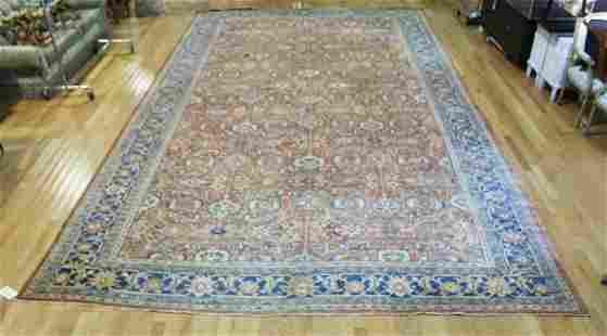 Large, Antique & Finely Hand Woven Roomsize Carpet