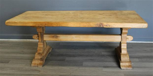 Antique French Farmhouse / Harvest Table.