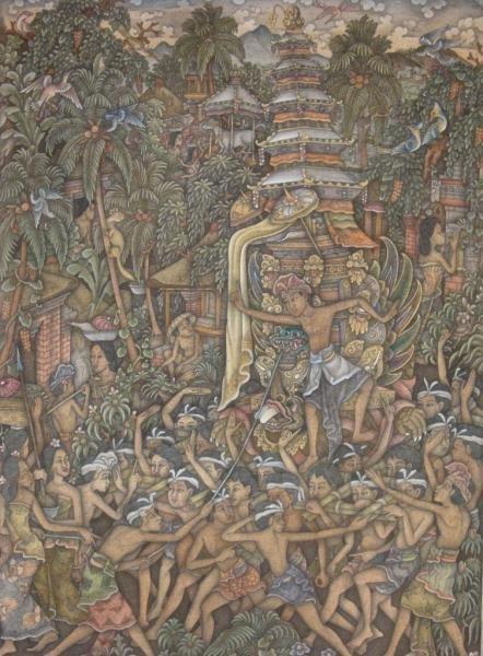 512: KATERU, Made. O/C Balinese Festival.