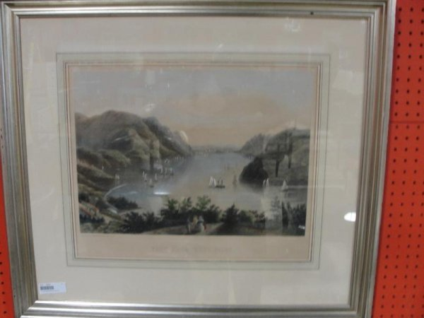 65: Framed Print of West Point, NY.