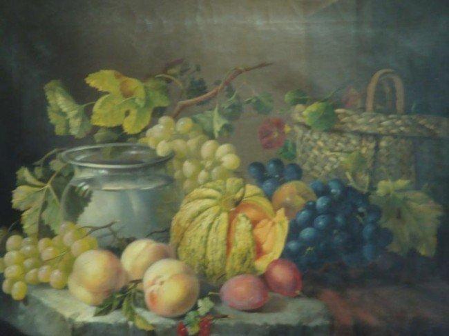 14: BATONI, Filippo? 19th C. O/C Fruit Still Life