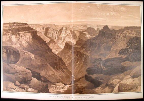 4: 1882 Atlas of the Grand Canyon (Canon).
