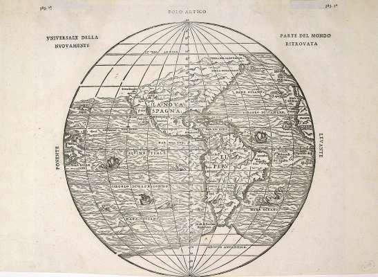 12: 1556? Universale della Parte del Mondo Nuovamente