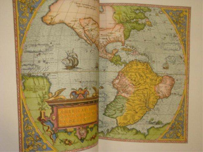 "14: 3 Copies - ""America in Maps"" Egon Klemp."