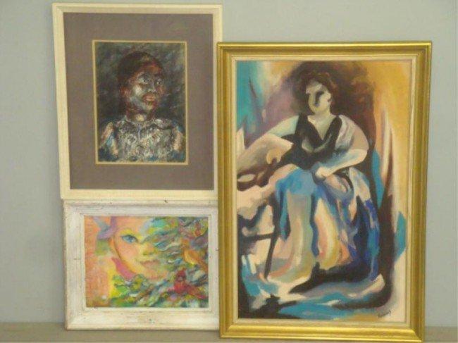 8: Three African-American Works of Art.