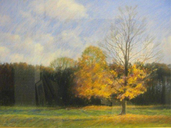2: DI FRANZA, Americo. Pastel Landscape.