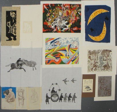 6: Portfolio of Japanese and Other Prints & Drawings.