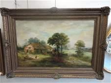 36: KOEKOEK, Jan H. B. O/C Landscape with House.