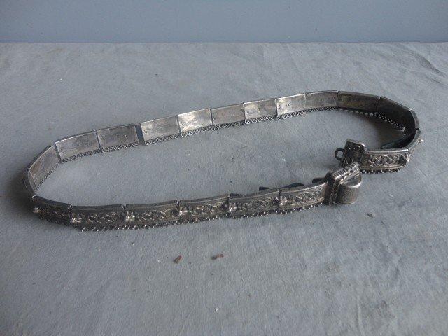189A: RUSSIAN (?) Silver Belt