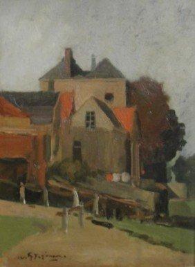 20: JANSEN, Willem G. F. O/C Country Landscape.