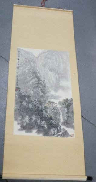 4: Chinese Landscape Scroll.