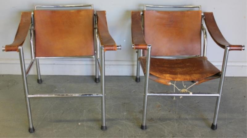 285: Pair of Early 20th Century Breuer Style Chairs.