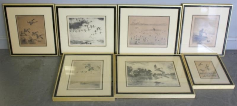 6:7 Hunting Prints.Includes Works By Benson, Bishop