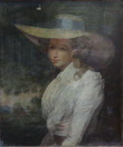 11: Oil on Canvas Portrait of a Lady in a Bonnet.