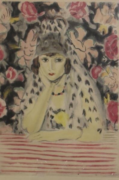 16: VILLON, Jacques. Aquatint After Matisse.