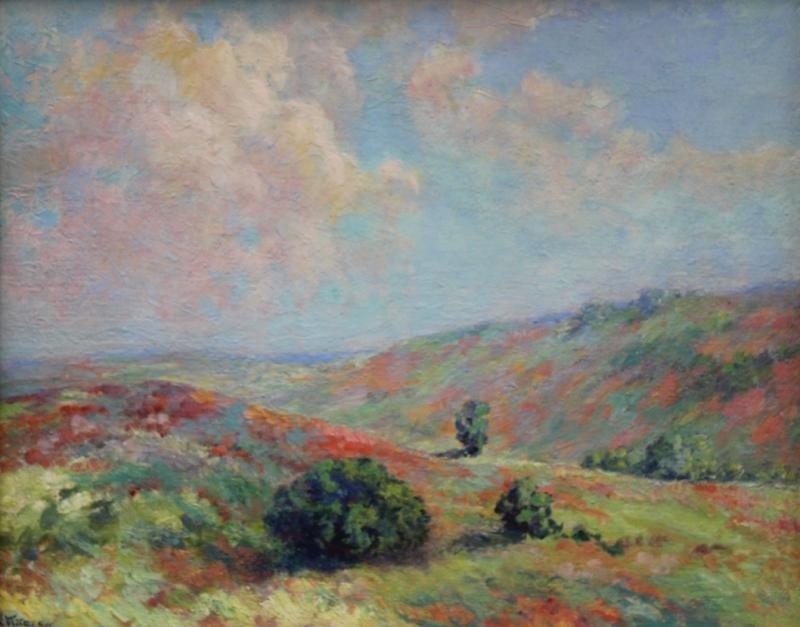 5: MACGREGOR, Nina Harvey. Oil on Board Landscape.