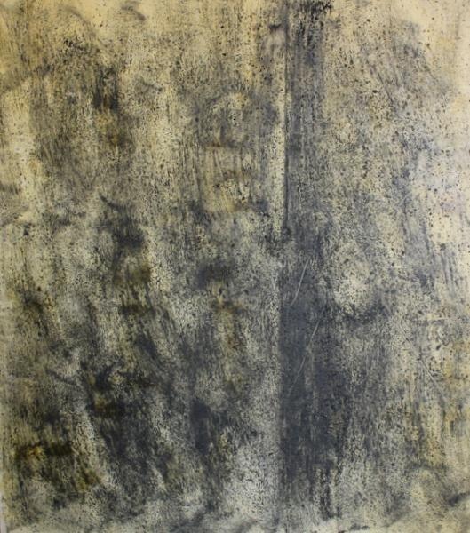 14: Large Midcentury Oil on Canvas.