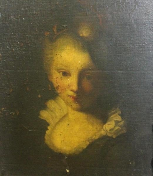22: Old Master Portrait of a Girl.