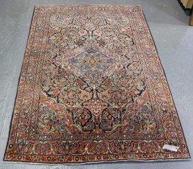 Vintage Center Medallion Oriental Scatter Carpet.