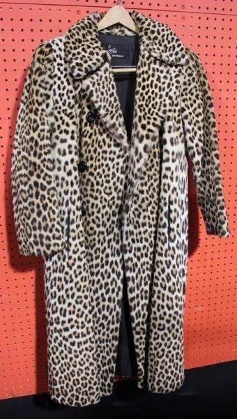 141: Vintage Leopard Coat.