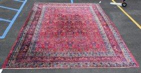 Sarouk Style Carpet.