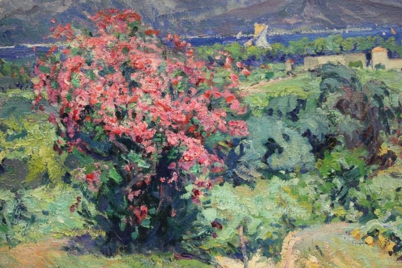 19: DE PIERREFORT, Marie Nivoulies. Oil on Canvas.