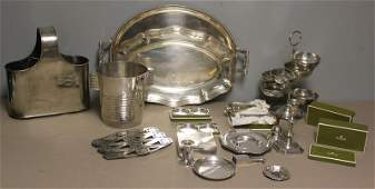 88: Christofle and Other Silverplate Lot.