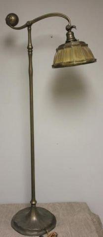 TIFFANY STUDIOS. Counter Balance Standing Lamp.