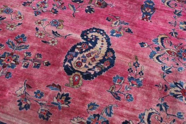 152: Large Signed Handmade Estate Carpet - 4